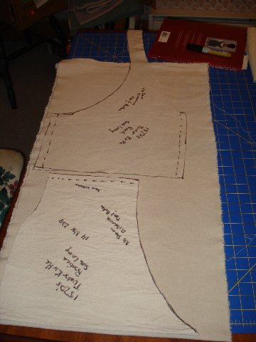 The Kirtle: Construction
